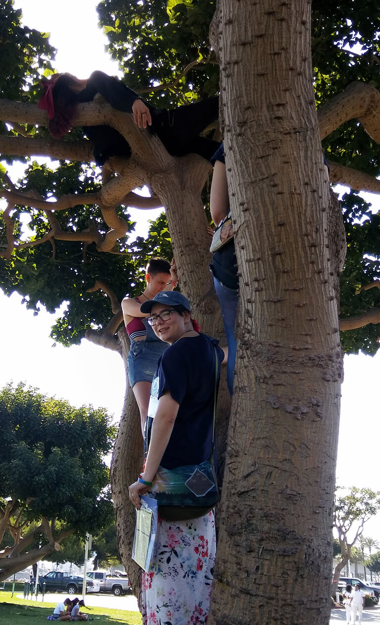 Four cousins in a tree